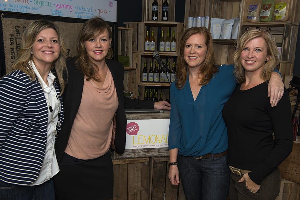 """Lemonade: One heckuva juicy speaker series"", with Erica Sigurdson, Jennifer Grant, and Danielle Krysa: Deep Cove, 2014."