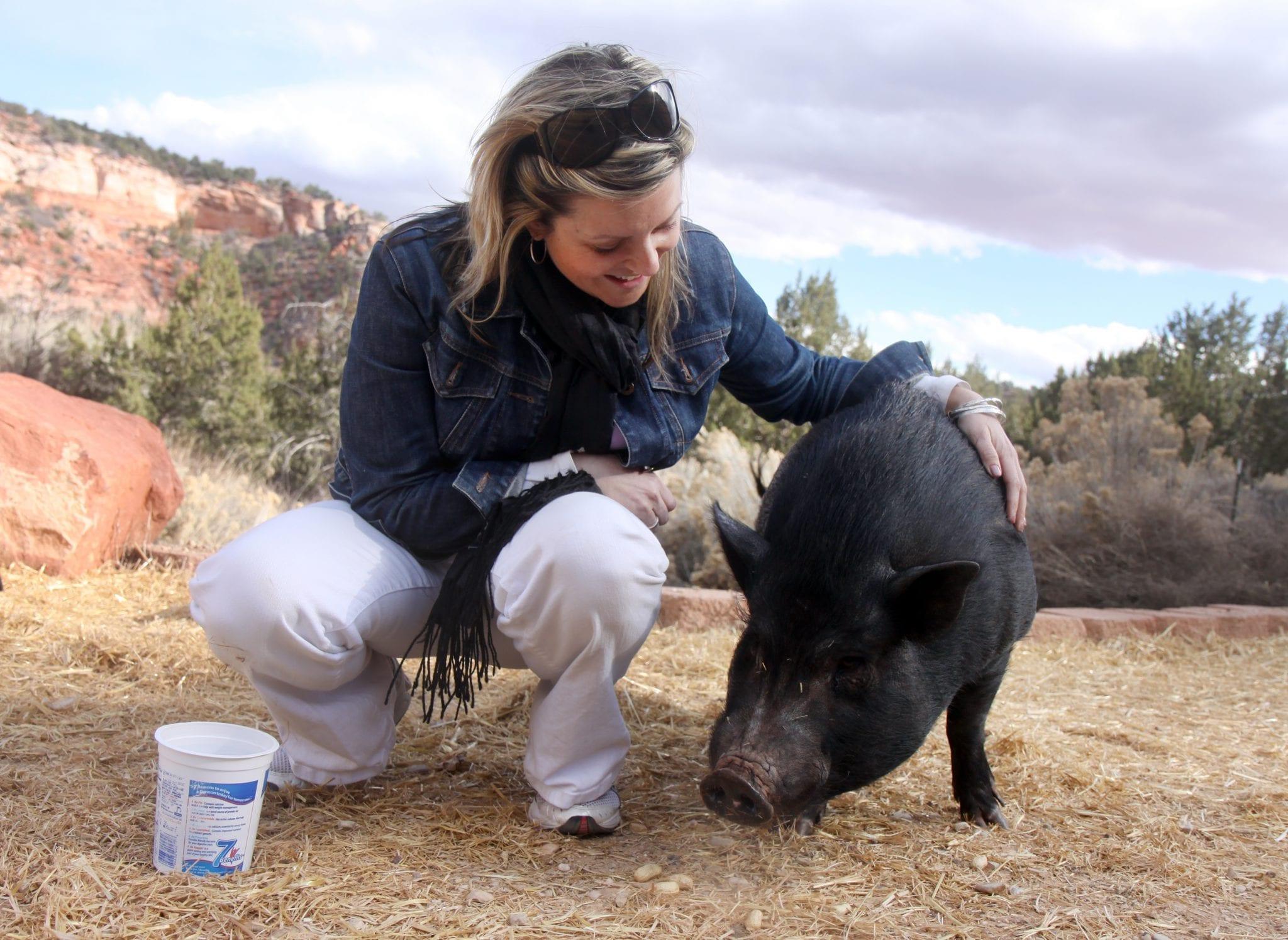 Me and a pal, Best Friends Magazine, Best Friends Animal Society: Kanab, Utah, 2009.